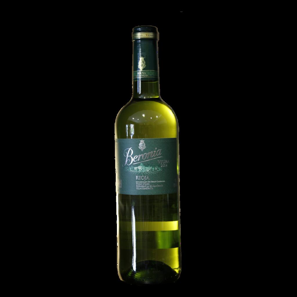 Vino Blanco varietal viura. Beronia, Ollauri (La Rioja)